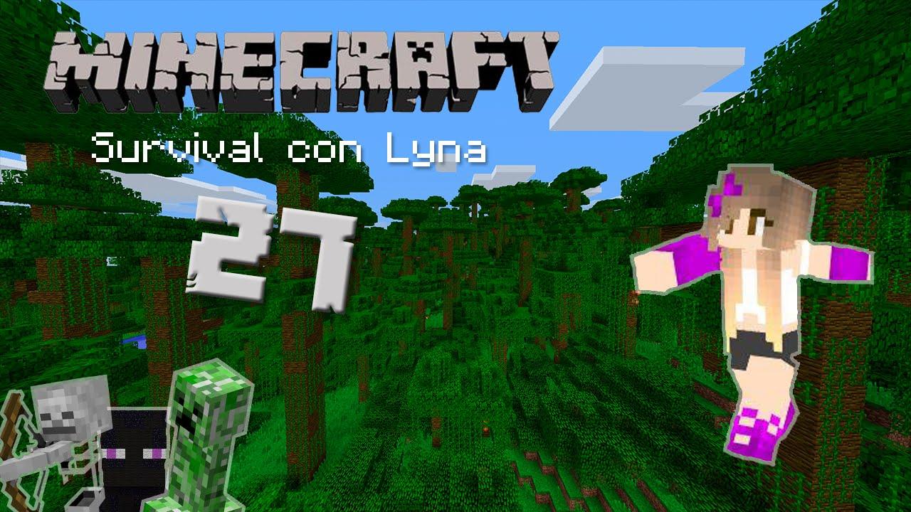 Aventura en la jungla minecraft survival con lyna 27 for Casa moderna lyna