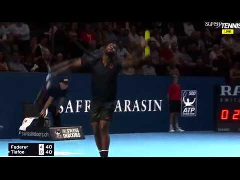 Roger Federer   Best Points at Basel 2017