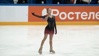 Alexandra Trusova 1TV Trophy 2021 FS Day 3 Трусова Кубок Первого ПП 07 02 2021