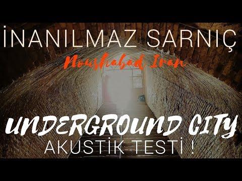 Underground City Acoustic Test (Noushabad Iran)