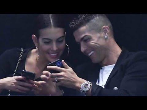 Ronaldo in London watching ATP finals
