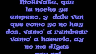Danny Romero Motivate Lyrics