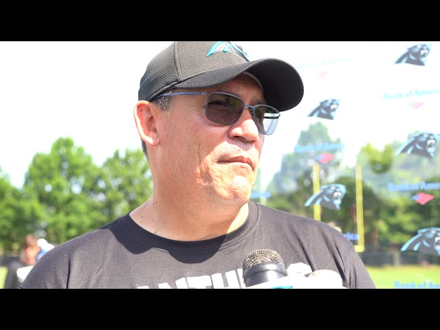 Ron Rivera On The Panthers Left Guard Questions