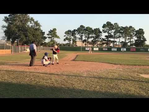 RBI triple at Alvin Community College