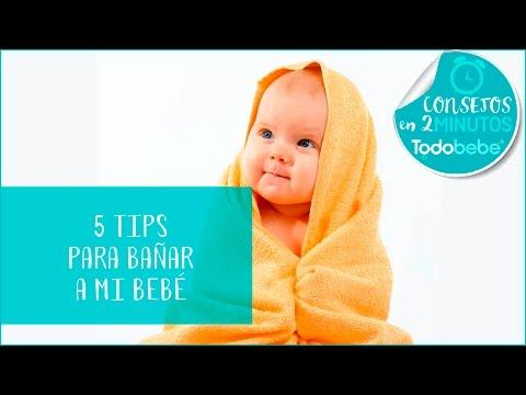 5 Tips para bañarmi bebé | Recomendaciones para bañar a mi bebé