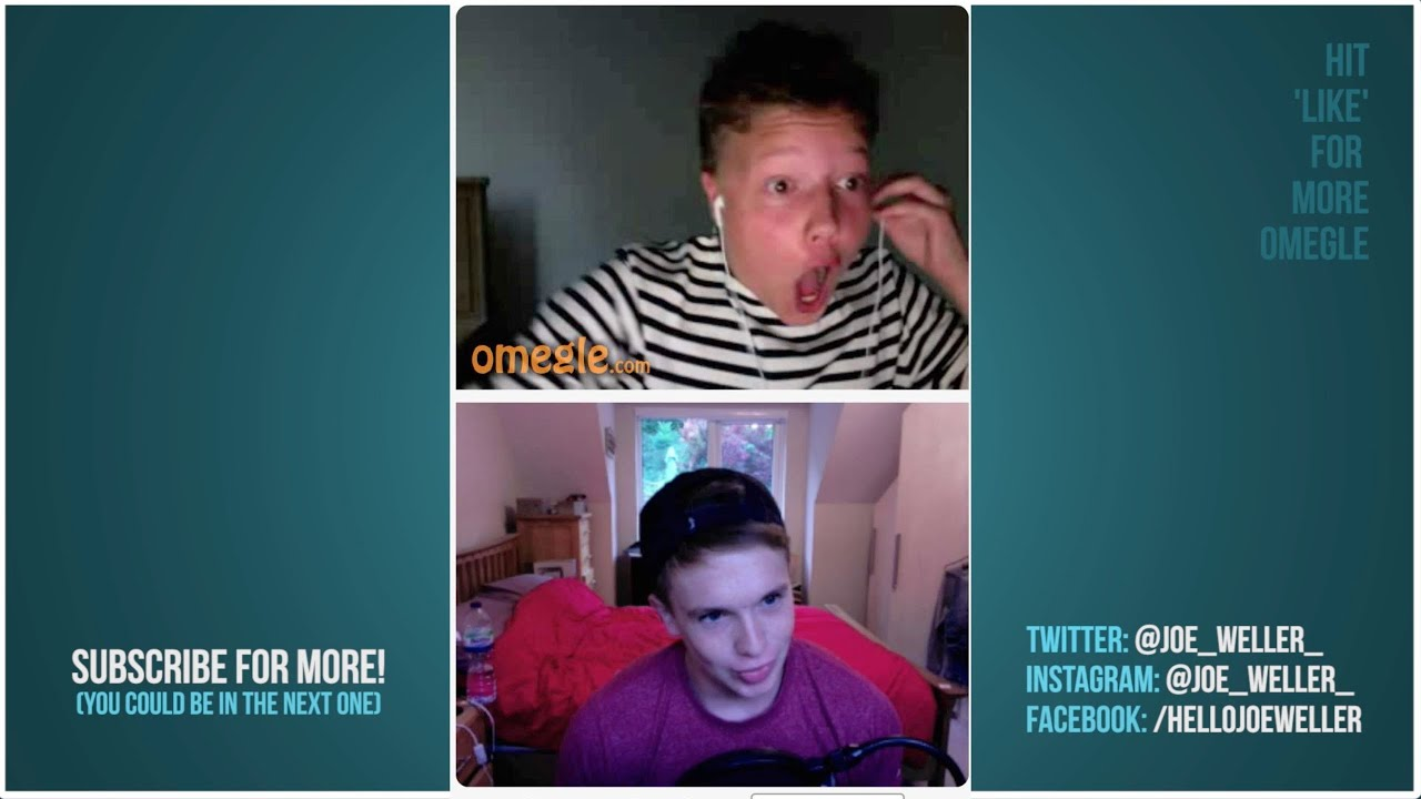 Joe Weller Discovers Omegle 2 feat STACEY  YouTube