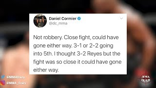 MMA Pros React to Jon Jones Controversial win over Dominick Reyes at UFC 247