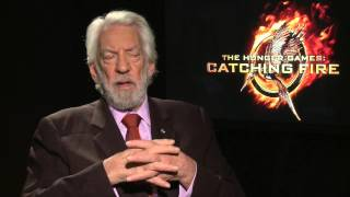 Donald Sutherland for 'Hunger Games 2: Catching Fire'