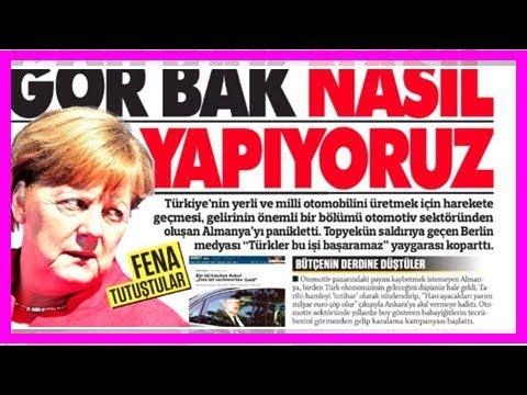 """erdoğan : """"sie sind in panik"""": erdogan-nahe zeitung attackiert deutschland – es geht um ein auto"""