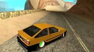 GTA SA - AE86 Drift