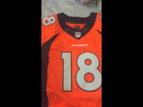 Antônio Brown Steelers Jersey and Peyton Manning Broncos Review Aliexpress