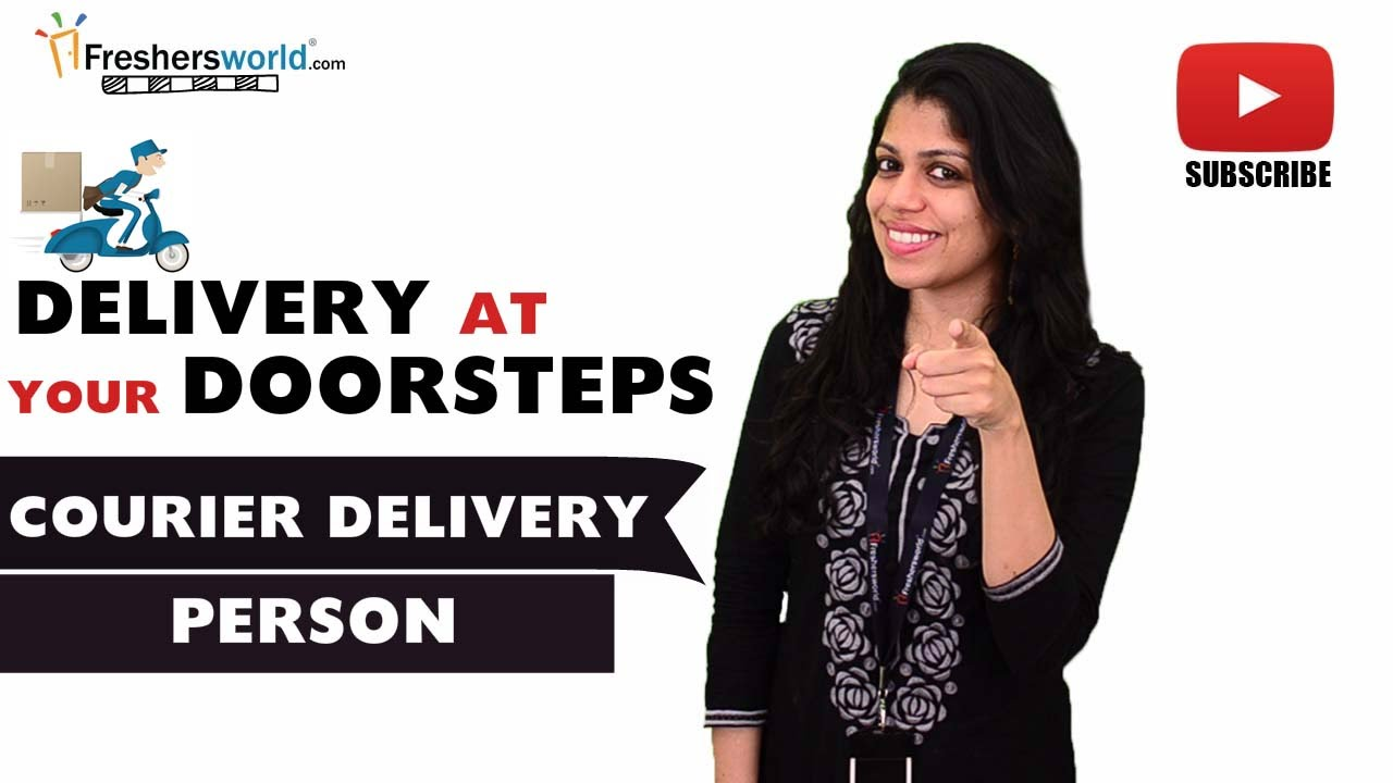 how to get a courier job