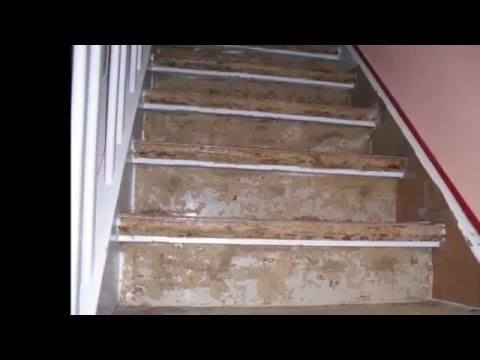Altbau Treppen Renovierung - YouTube