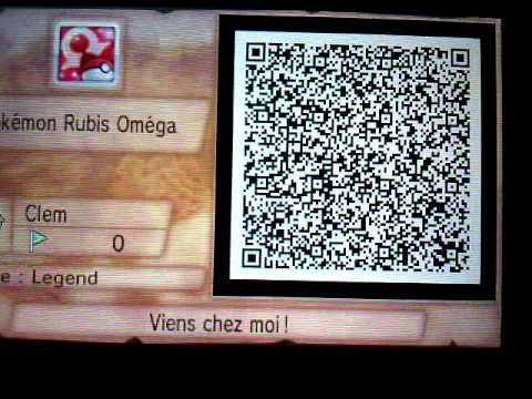 Pok 233 Mon Rubis Om 233 Ga Comment Avoir Un Qr Code Youtube