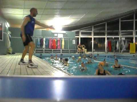 aqua aerobic super choreography