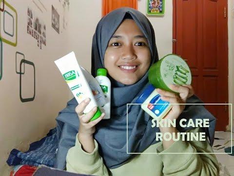 Skin Care Routine | untuk wajah Berjerawat dan Berminyak