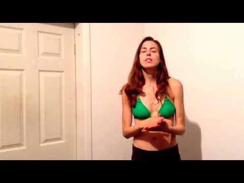 Fruitarian Breastfeeder Shows How to Hand Express Breast Milk Marmet Technique