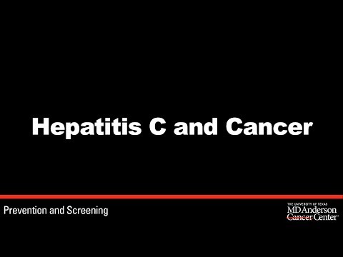 Hepatitis C and the connection to cancer