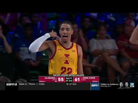 Tyrese Haliburton vs Bama 23 PTS 9 AST             11.28.19