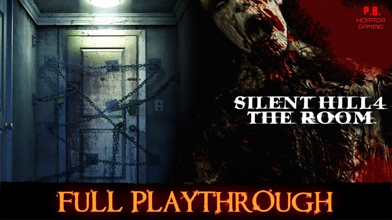 Silent Hill 4 The Room Full Ps2 Playthrough Longplay Gameplay