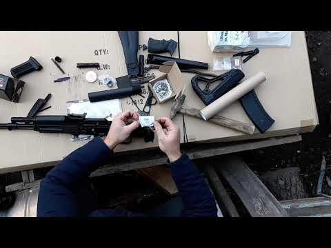 Проблема с установкой  Армакон монолит 3 Сайга 5 45 тюнинг замена приклада рукоятки