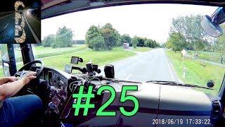 Führerstand LKW #25 (Von Weiden nach Bayreuth) Führerstandsmitfahrt Viel Gequatsche