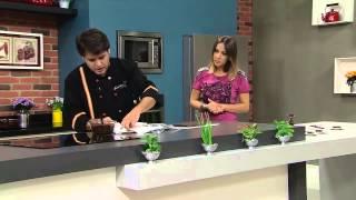 Receitas Bom Sabor 14/02/2014 - Fudge de nozes -Eduardo Beltrame