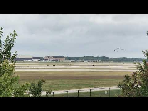 Thunderbirds depart Cleveland
