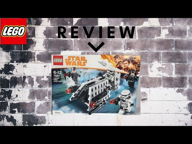 Lego Star Wars 75207 Imperial Patrol Battle Pack - Review, Speed Build