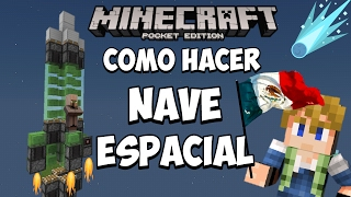 Como hacer una nave espacial Minecraft pocket edition 1.0.X sin mods lol xD