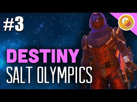 Destiny - Dream Team Olympics FINALE #3 TEAM SALT (Funny Gaming Moments)