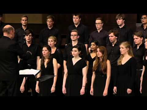 Evening Hymn (Rautavaara) - Trinity College Choir, USA Tour 2015