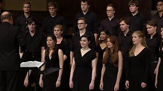 Evening Hymn (Rautavaara) - Trinity College Choir, USA Tour 2015