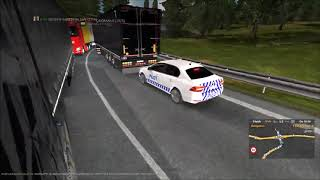 Calais-duisburg Time-lapse #1 | Ets2mp Cheater Permanent Ban - Chat Escalated