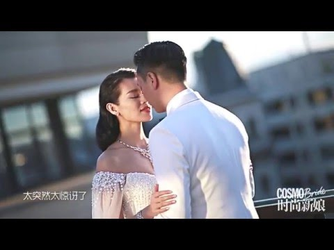 Myolie Wu & Philip Lee - Bridal Photoshoot in Belgium