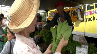 Ann Gentry At The Farmer's Market