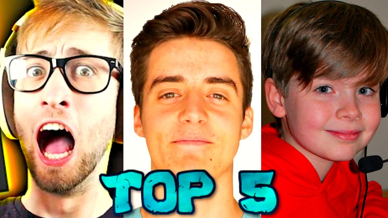 Top 5 Richest Roblox Youtubers 2016 Ethangamertv Denis Roblox