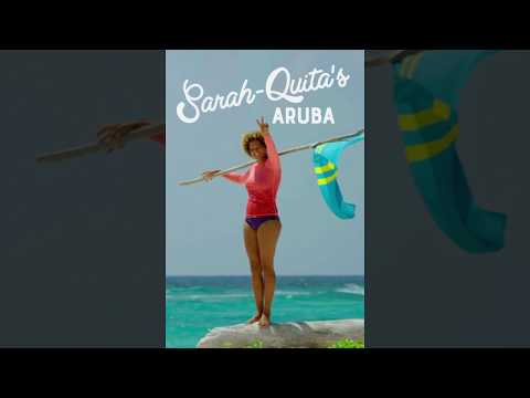 Discover Boca Grandi beach with Sarah-Quita : The Locals Travel Guide to Aruba