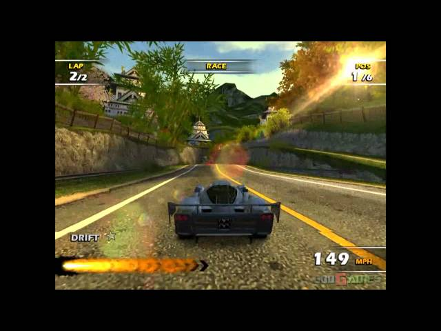 Burnout Dominator - Gameplay PS2 HD 720P