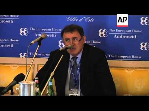 Economist Nouriel Roubini on expected US unemployment figures