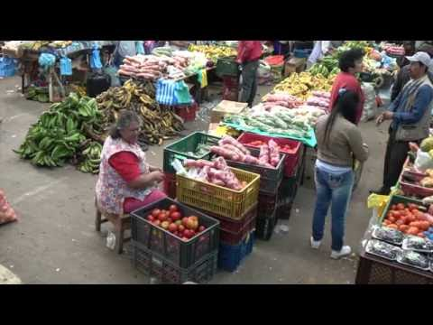 The market of Silvia (Colombia)