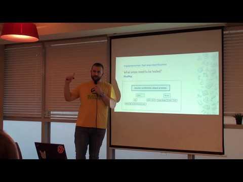 Implementation Test Plan -  TestIL Meetup @Verint