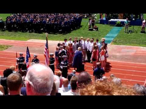 Lancaster High School Graduation 2012 National Anthem