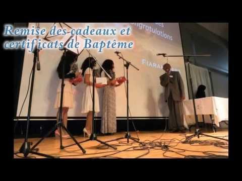 Baptême Adventiste de Kezia, Mickaëla et Wendy (MAFA 2013) ~ Our Baptism ~ Batisa