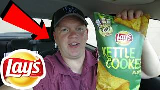 Reed Reviews Lay's Kettle Cooked Jalapeno Potato Chips