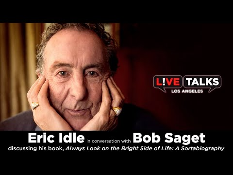 Eric Idle in conversation with Bob Saget at Live Talks Los Angeles