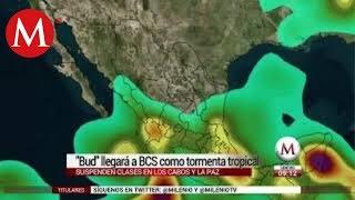 Suspenden clases por tormenta tropical Bud