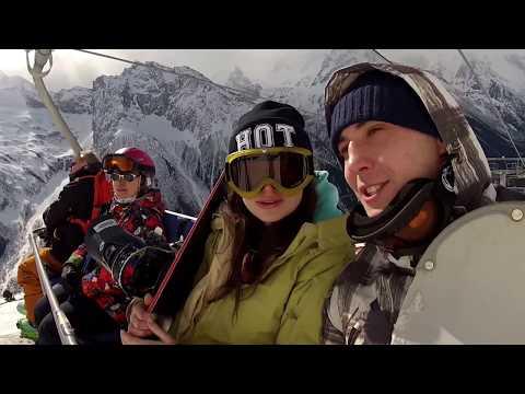 Безтусовочный горнолыжный курорт   Домбай