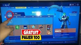 WORLD EXCLU EN GLITCH ETRE PALIER 100 FREE ON FORTNITE Battle Royale #PALIER #GLITCH