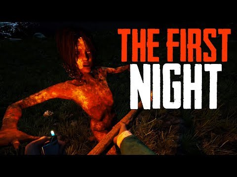 The Forest! - The First Night - The Forest Multiplayer w/ Boomer #2